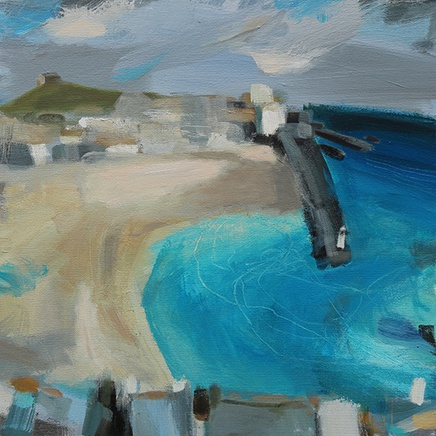 St Ives Harbour, Blue Bay