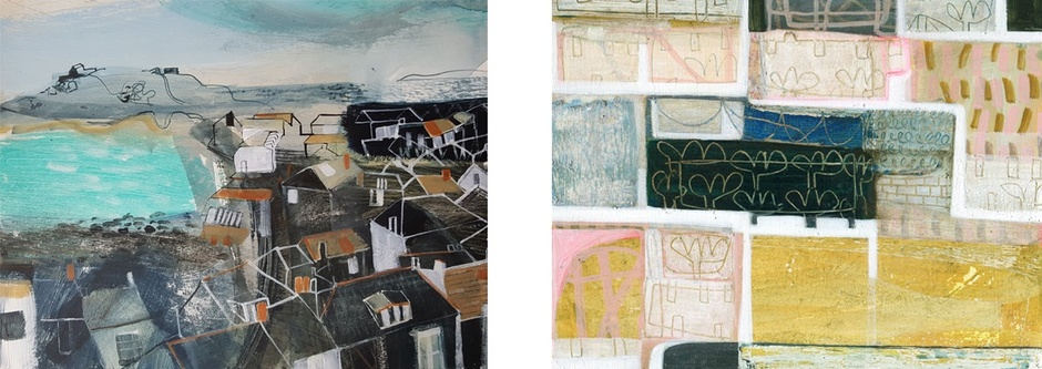 JANE ASKEY ANNE DAVIES  ST IVES SUMMER SHOW  MIXED SHOW  16 JUN – 1 SEP