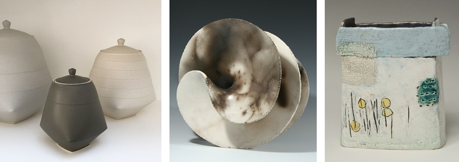SUN KIM ANTONIA SALMON CRAIG UNDERHILL  SCULPTURAL CERAMICS SHOW  14 JUL – 1 SEP